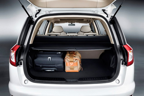 Geely Emgrand x7 багажник