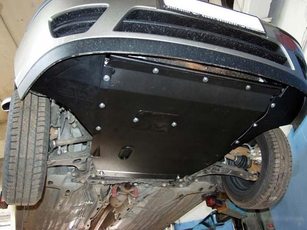 Защита картера двигателя Джили Эмгранд х7