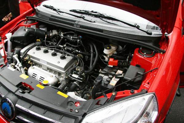 Двигатель в Geely MK Cross