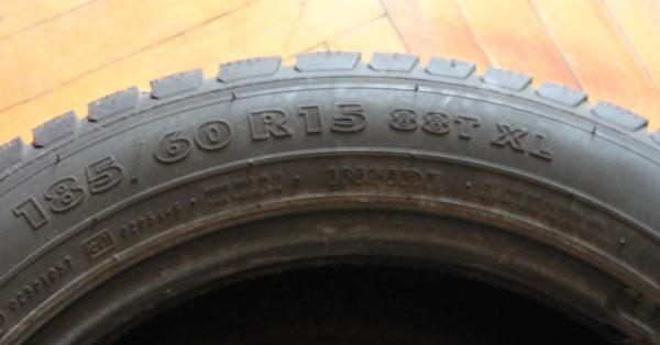 Штатный размер резины 185/60 R15